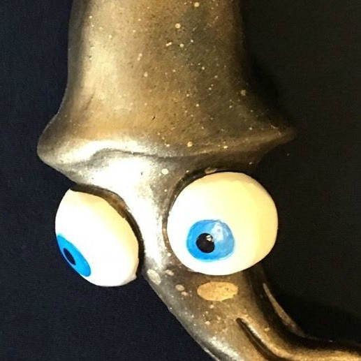 Stinky mel squid art fish with attitude by mike quinn for Stinky fish in a can