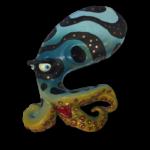 Wild Bernie Octopus Art