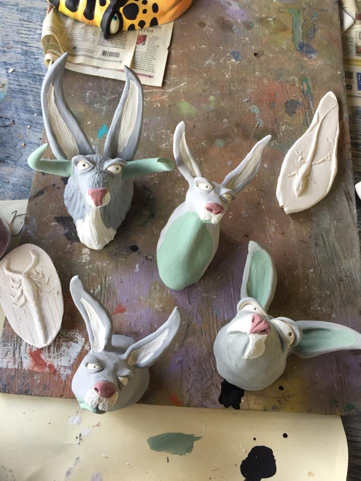Bunnies by Mike Quinn