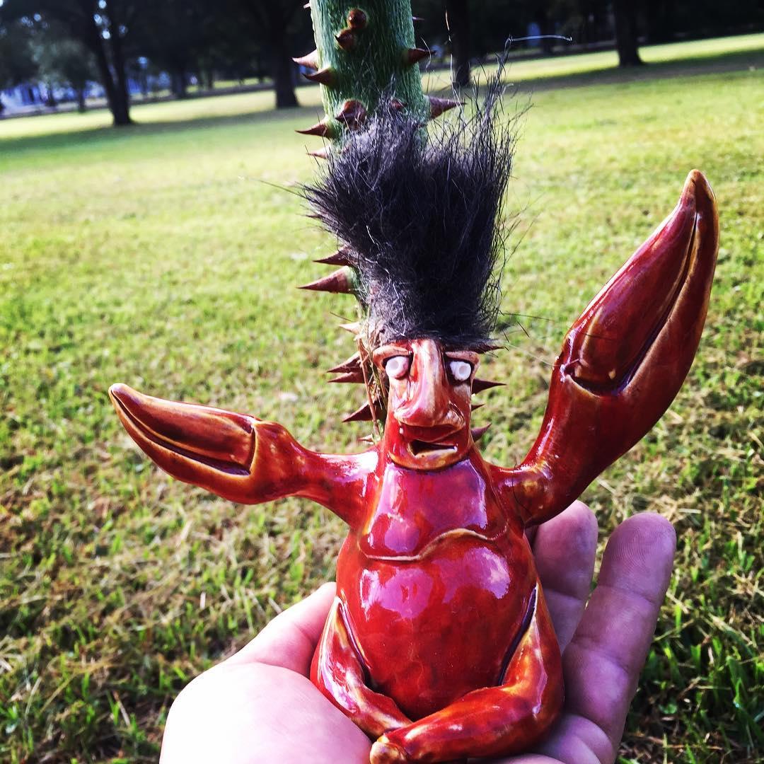 Crabman - Artist Mike Quinn