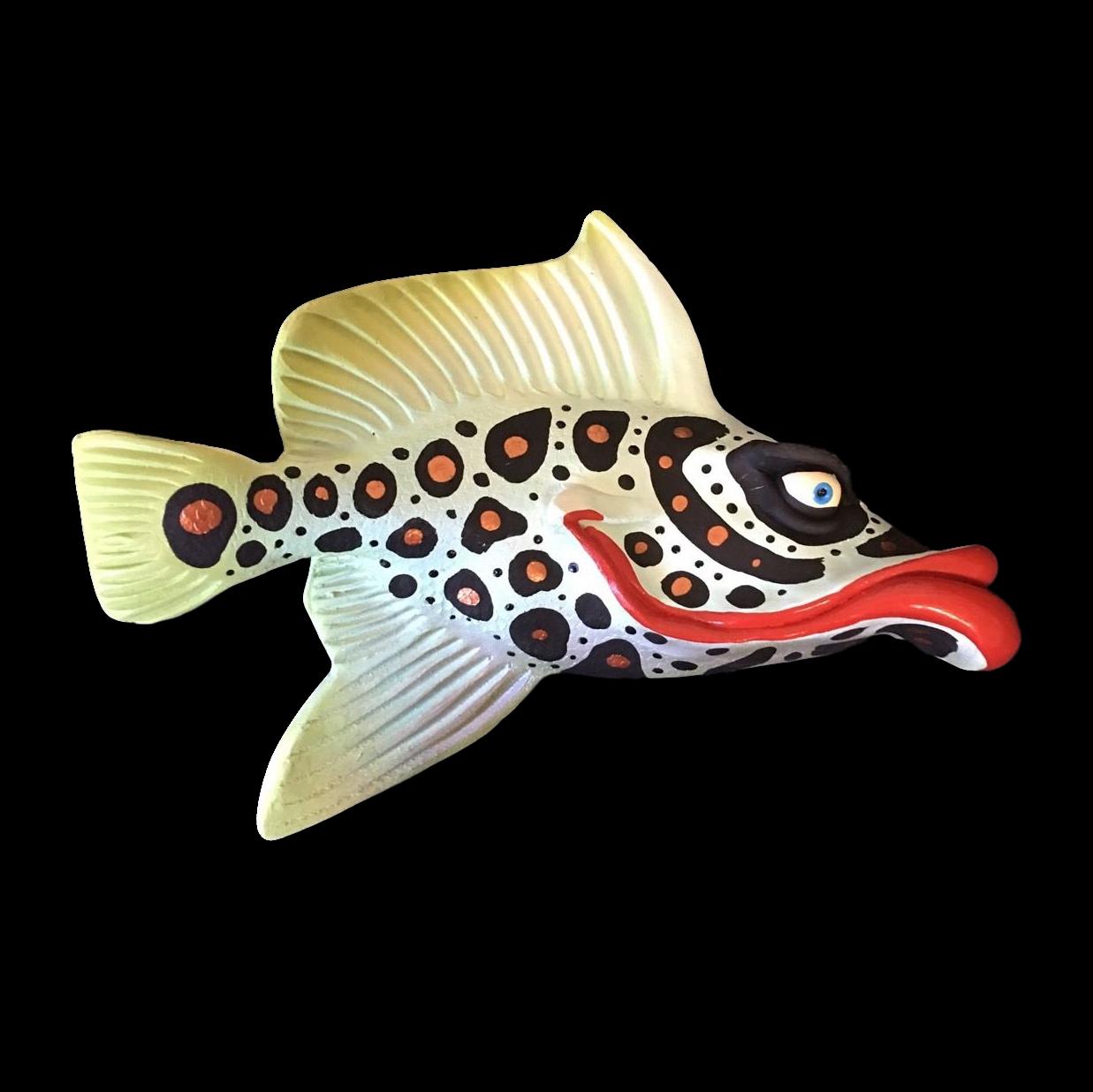 Flo-Mamma Fish with Attitude