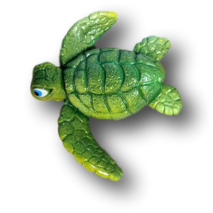 Little Ricky Sea Turtle Green- Mike Quinn