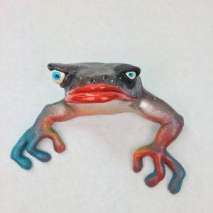 Fabulous Little Big Eye Frog Wall Art
