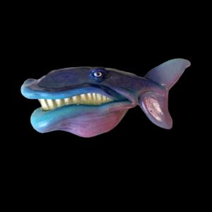 Blue Maui Mike - Fish with Attitude