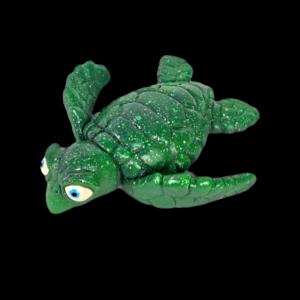 Dr. Honu Sea Turtle Wall Art- Green