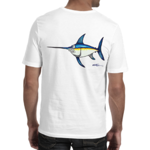 "Mike Quinn ""Swordfish"" Adult Shirt 100% Cotton -"