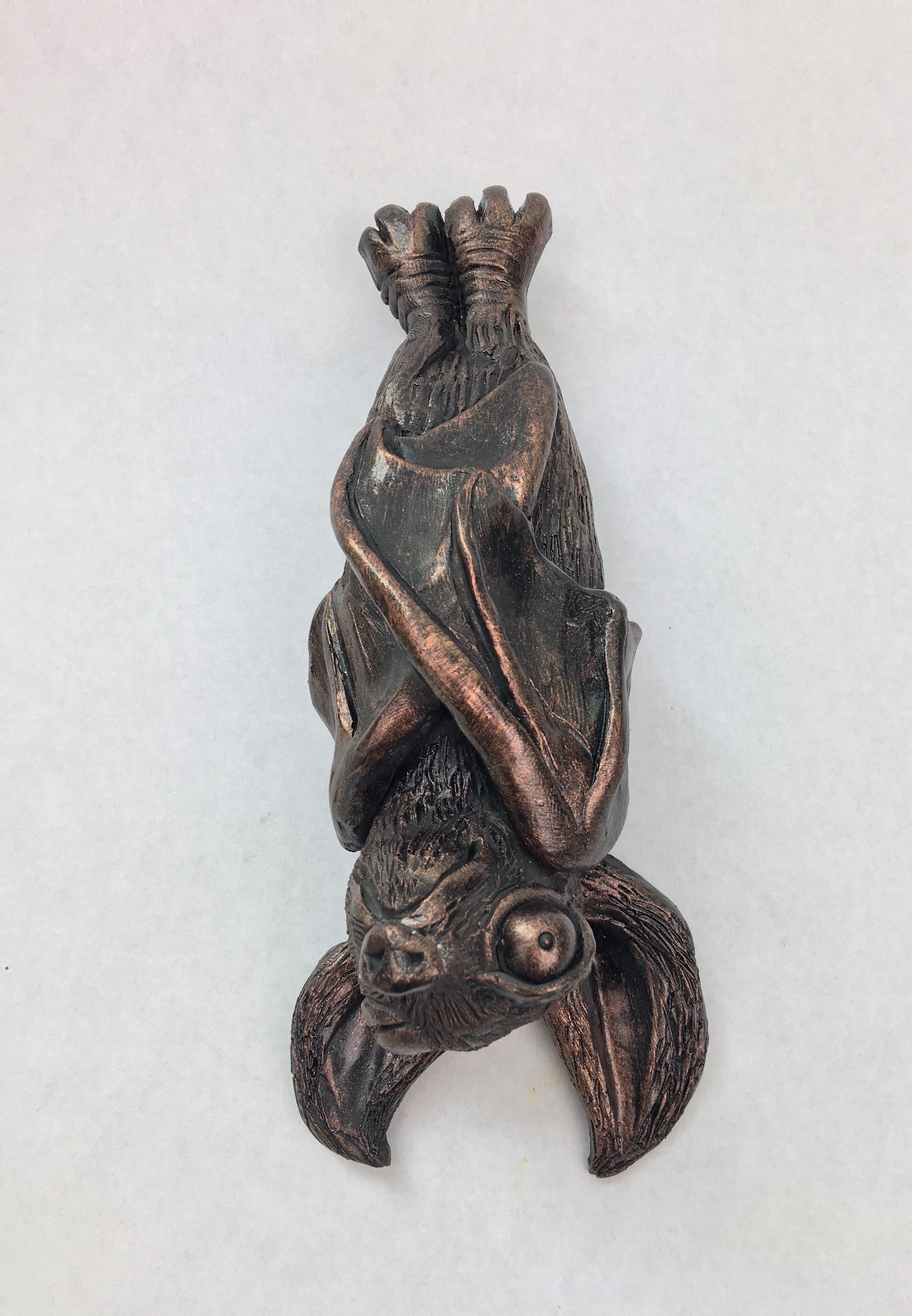 Bronze King Guano Bat Wall Art Fish