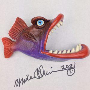 Chukka Chukka Baby - Fish with Attitude - Purple