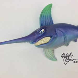 Blue Captain Travis - Fish With Attitude