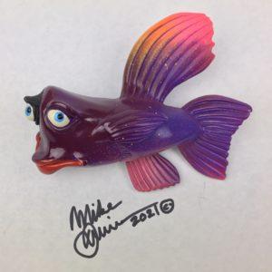 Purple Hula Hula - Fish with Attitude